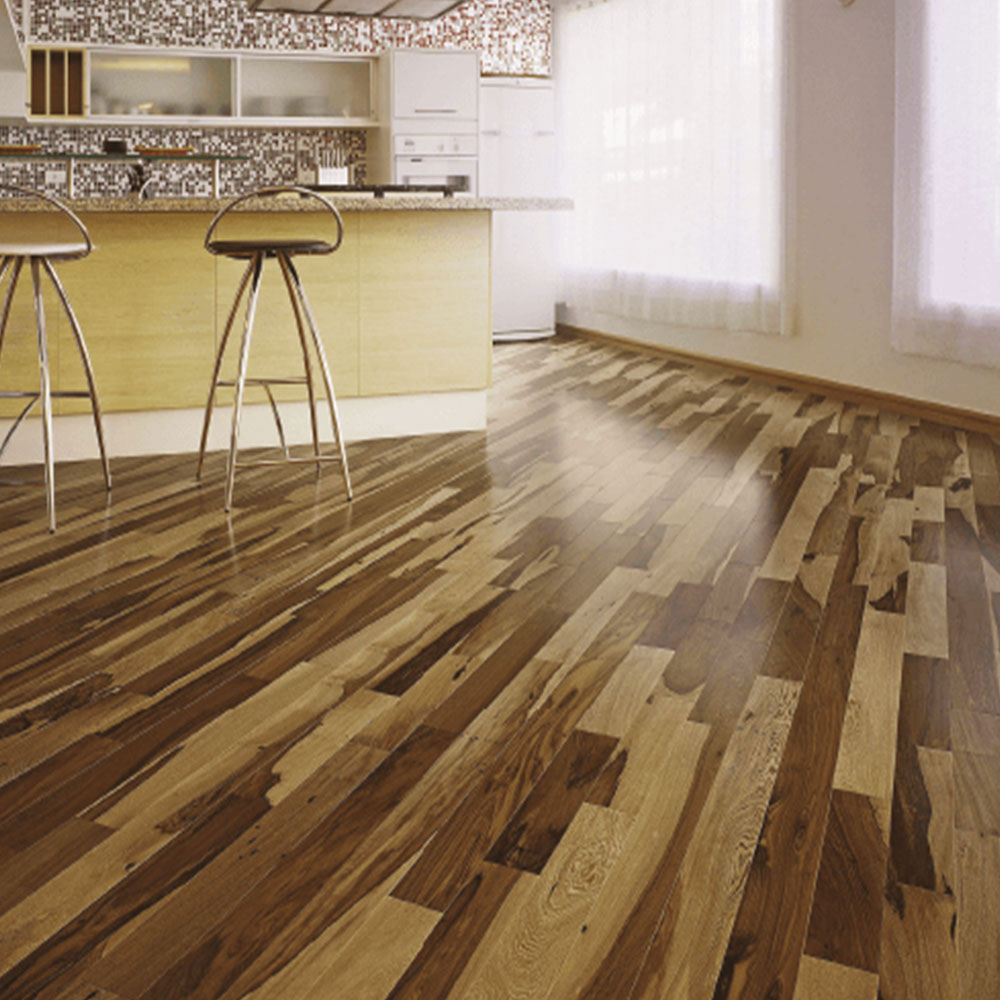 Triangulo Engineered 3/8 x 3-1/4 (200 Series) Brazillian Pecan (Guajuvira) Hardwood Flooring