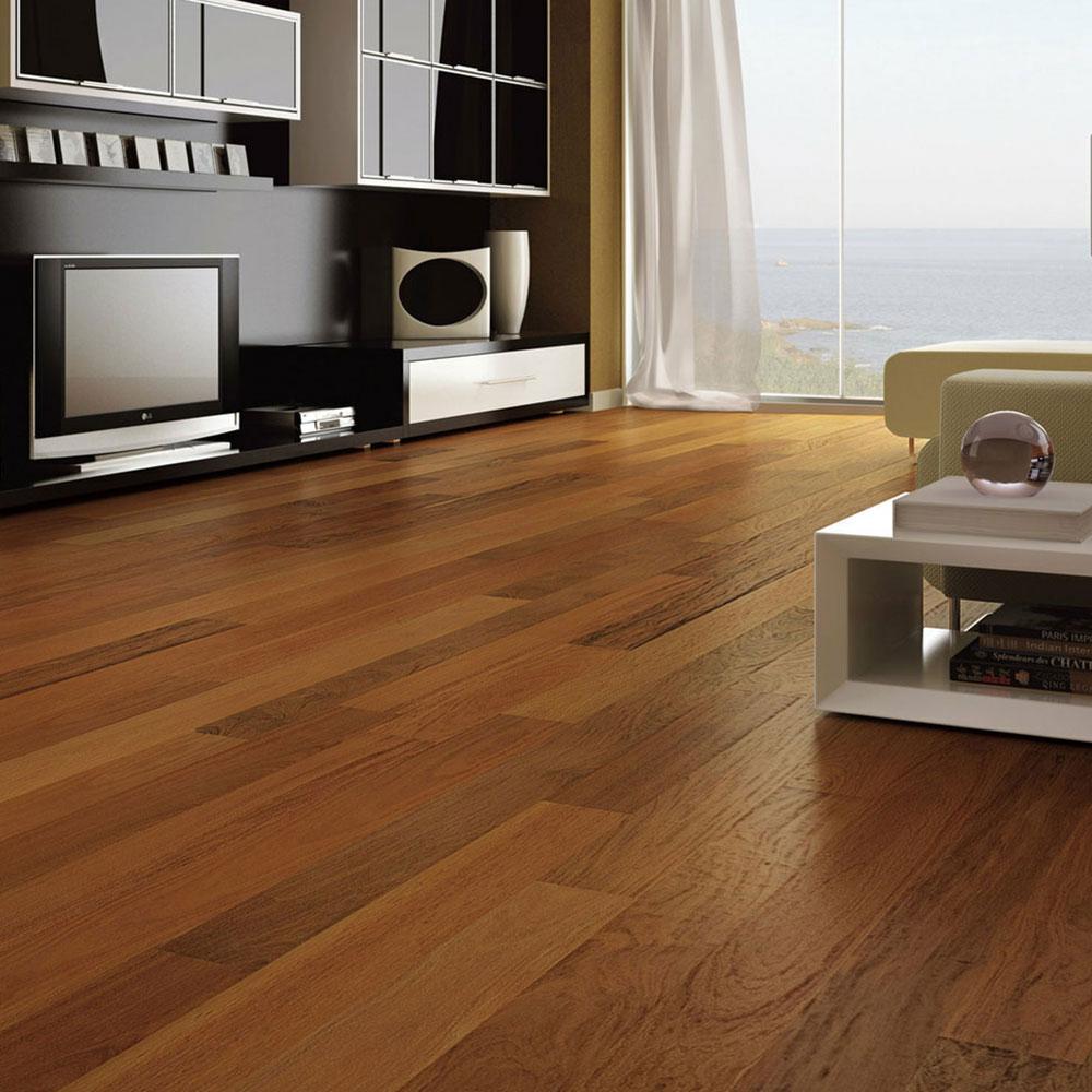 Triangulo Engineered 3/8 x 3-1/4 (200 Series) Brazilian Walnut (Ipe) Hardwood Flooring