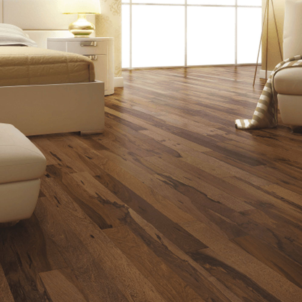 Triangulo Engineered 1/2 x 5-1/4 (300 Series) Chocolate Pecan Hardwood Flooring