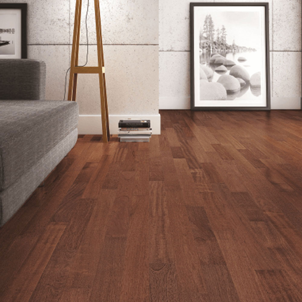 Triangulo Engineered 1/2 x 5-1/4 (300 Series) Royal Brazilian Cherry Hardwood Flooring