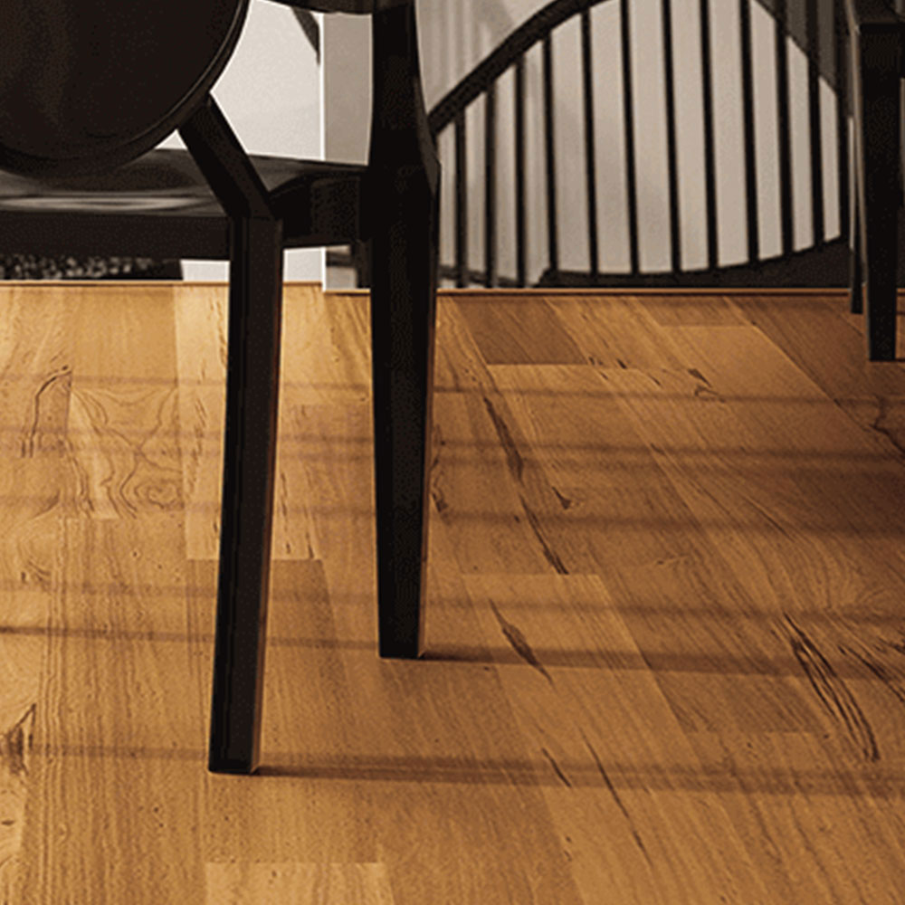 Triangulo Engineered 1/2 x 5-1/4 Natural Oil Tigerwood Hardwood Flooring