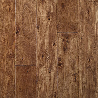 Versini Francesco Handscraped HDF Core Locking 5 Inch Mustang Hardwood Flooring