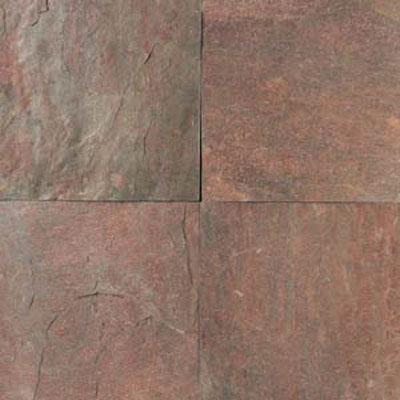 Daltile Tumbled Natural Stone Slate 12 X Ts73 Copper Tile